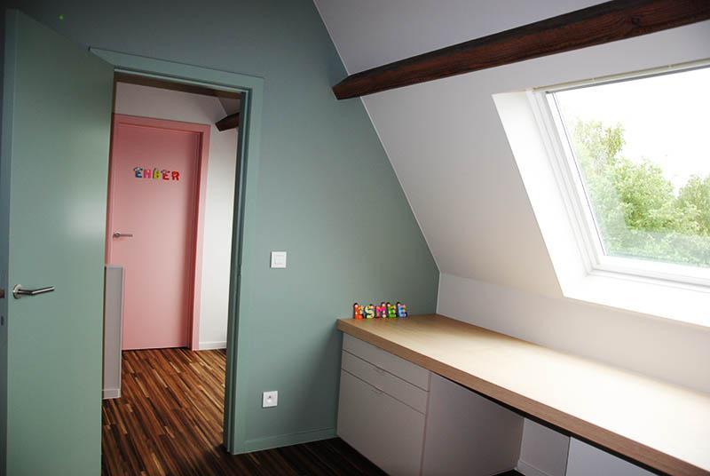 Kinderkamers Op Zolder : Zolderinrichting met 2 meisjeskamers alphaworks