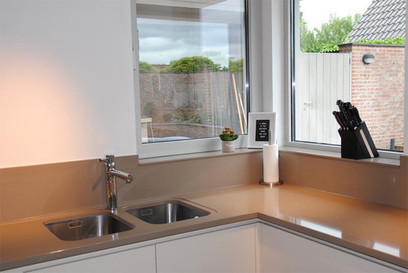 Composiet werkblad reinigen natuurstenen keukenbladen meer keuken