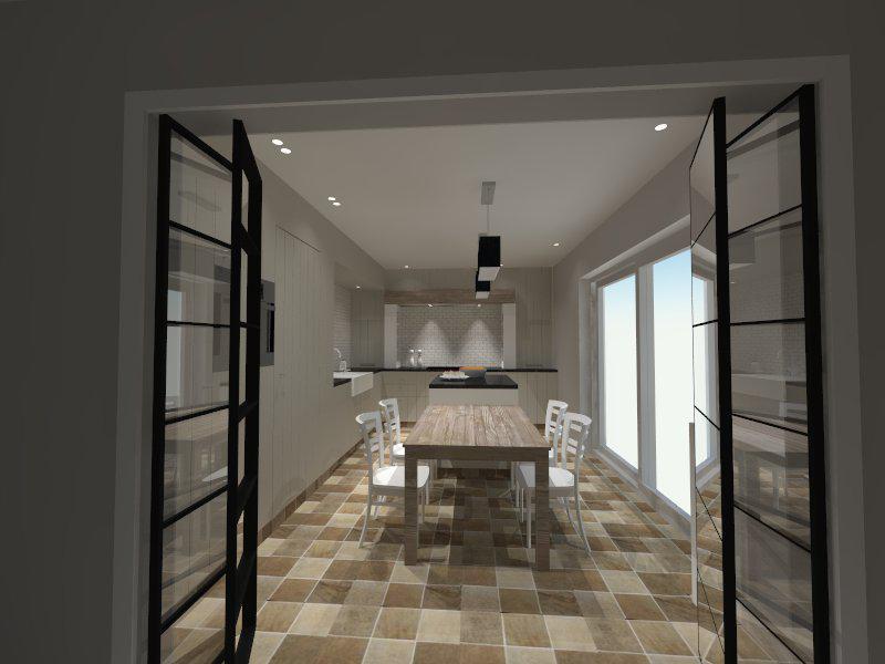 Alpha Design Keukens : Ontwerp landelijke keuken Alphaworks