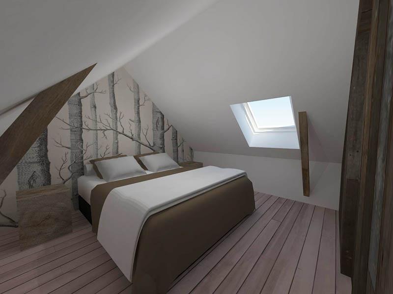 Zolder Slaapkamer Ontwerpen: Tips voor het inrichten van een zolder ...