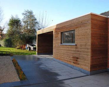 aanleg terras in natuursteen