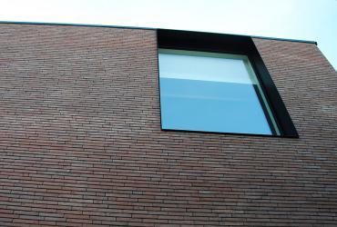 zwarte aluminium ramen