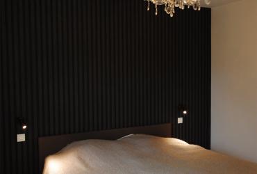 slaapkamer met dressing