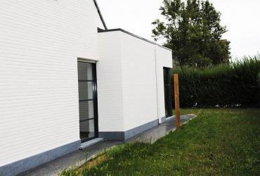 uitbreiding woning geschilderd