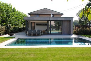 poolhouse 3delig schuifraam