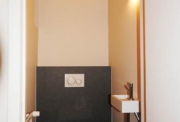 opfrissen toilet