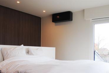 slaapkamer hoge ramen