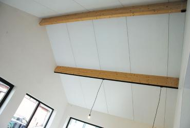 open nok met houten spanten