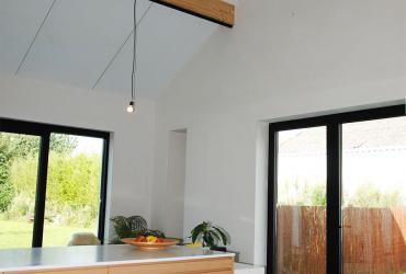 uitbreiding keuken met open nok