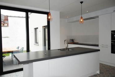 keuken met cementtegel
