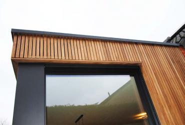 houten gevelbekleding latjes verticaal