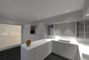 keuken in U-vorm
