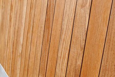 houten planchet gevelbekleding
