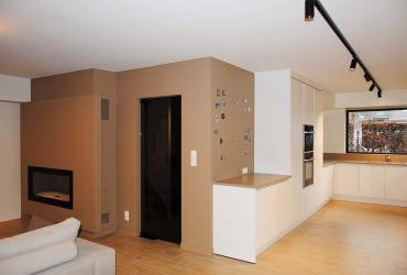interieur wit zwart hout