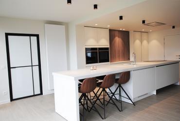 keuken met opschuifkast