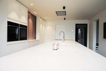 keuken met wit eiland