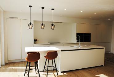 witte keukeninrichting