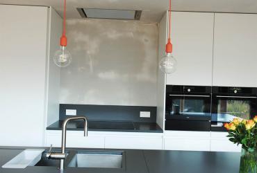 keuken met veel licht