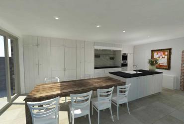 ontwerp klassieke keuken