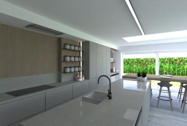 ontwerp keuken uitbreiding