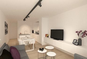 ontwerp renovatie klein appartement
