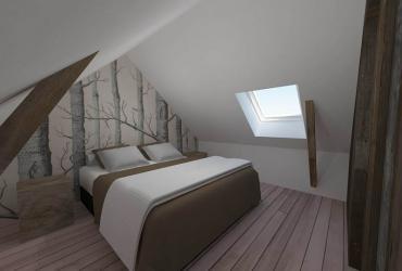 slaapkamer zolder