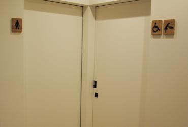 Sas toiletten