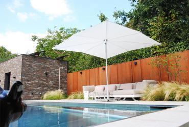 zwembad afwerking terrassen en gevel